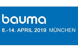 BAUMA 2019 - MUNCHEN GERMANY